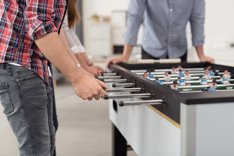For Employee Happiness, Skip the Foosball Table and Espresso Machine